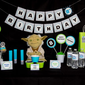 Star Wars Printable Party