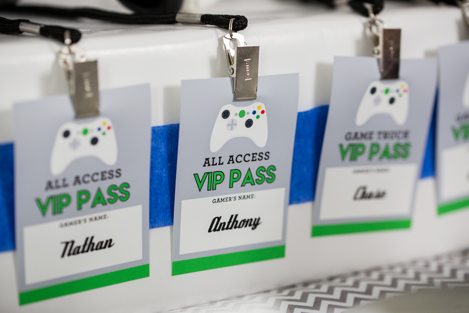 Video Game Party VIP Pass