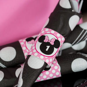Minnie Mouse Napkin Rings