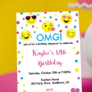 Emoji-Invitation