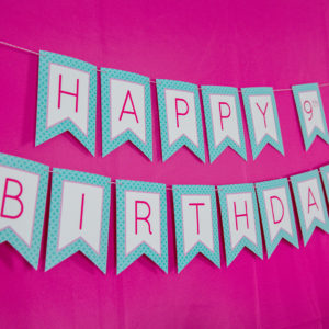 Spa-Party-Birthday-Banner