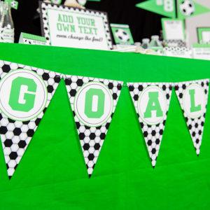 Soccer Banner T