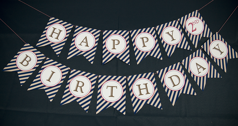 Vintage Baseball Birthday Party Printable Set And Invitation