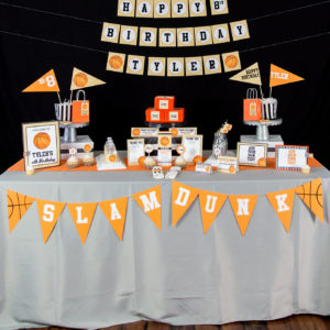 Sports Birthday Party Theme