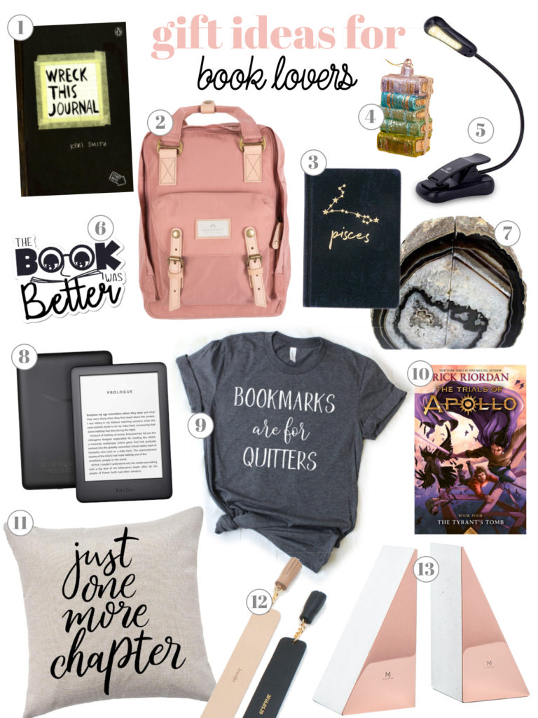 Gift Ideas for Teen Bookworm
